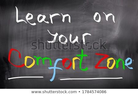 Change Your Mindset Handwritten on Chalkboard. Stock photo © tashatuvango
