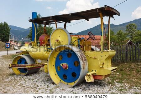 steam roller, Mokra Gora, Serbia Stock photo © phbcz