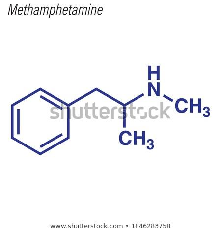 Branco ilustração 3d educação ciência estudar drogas Foto stock © limbi007