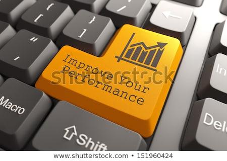 rendimiento · gestión · garabato · diseno · iconos - foto stock © tashatuvango
