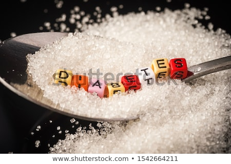 concept of diabetes sugar Stock photo © Olena