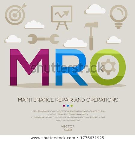 Maintenance Costs Concept. Golden Gears. Stock photo © tashatuvango