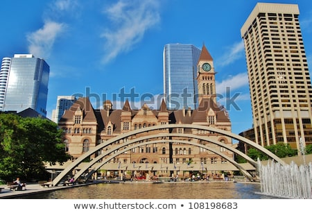 Historic building of Toronto City Hall Stock photo © benkrut
