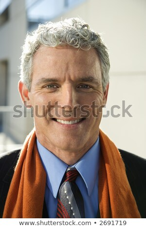 man with scarf at viewer Stock photo © IS2