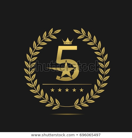 top rated golden label design Stock photo © SArts