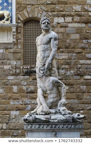 Florence művészet szobor vakáció szobor senki Stock fotó © IS2