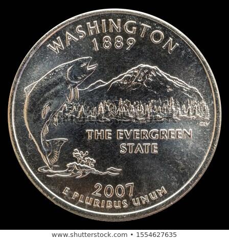 米国 · 銀 · コイン · お金 - ストックフォト © is2