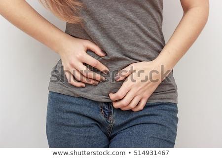 emberi · anatómia · fertőzés · illusztráció · orvosi · terv · háttér - stock fotó © bluering