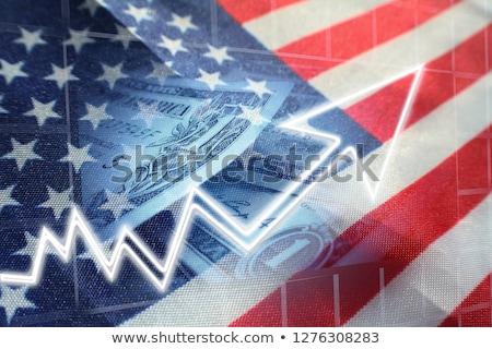 Stany Zjednoczone ekonomiczny handlu amerykański wysyłki import Zdjęcia stock © Lightsource