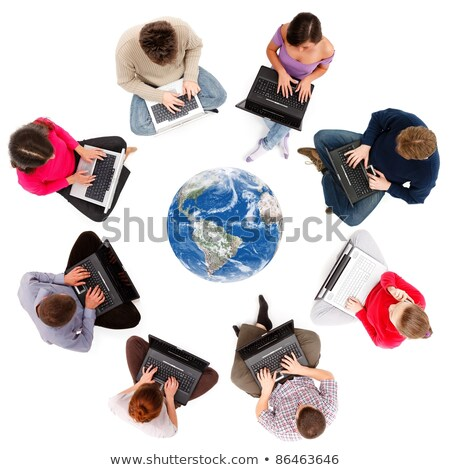 Social network members Stock photo © icefront