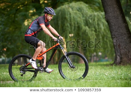 Man Ready to Ride a Bike Stock photo © 2tun