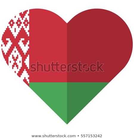 Беларусь · флаг · белый · дизайна · Мир · волна - Сток-фото © amplion