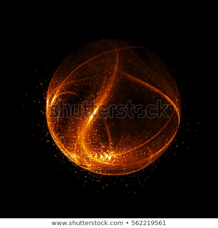 abstract fire atom  Stock photo © zven0