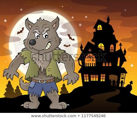 Werewolf topic image 4 Stock photo © clairev