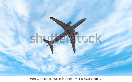 飛行機 · 飛行 · デザイン · 画像 · 平面 - ストックフォト © bluering