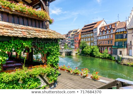 Colmar traditional french houses  Stock photo © tilo