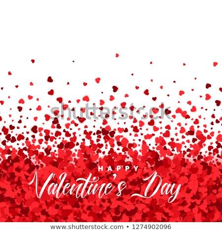 сердцах частицы день любви счастливым аннотация Сток-фото © SArts