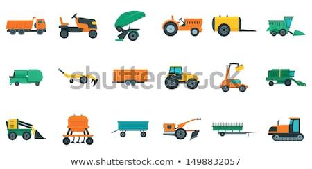Agricole machines équipement bulldozer Photo stock © robuart
