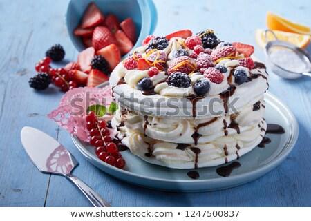 Berry · torta · party · frutta · estate - foto d'archivio © yuliyagontar