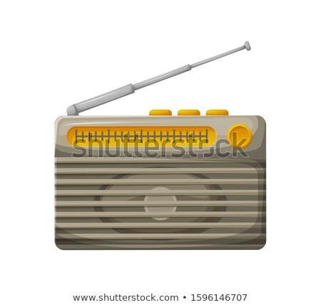 Nagrody najlepszy radio stacja srebrny złota Zdjęcia stock © robuart