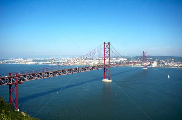 25 Abril bridge Stock photo © t3mujin