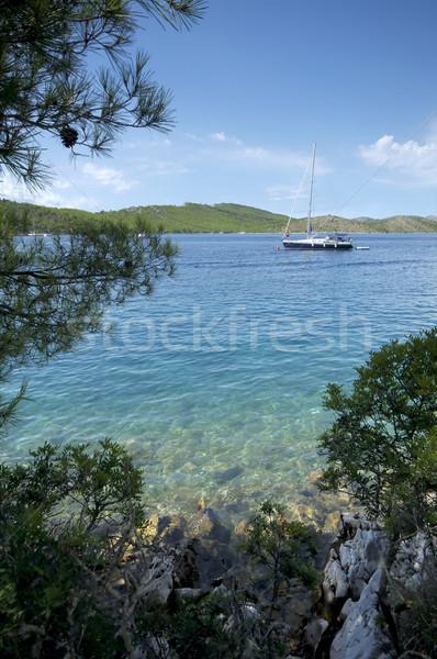 Anchored sail Stock photo © t3mujin