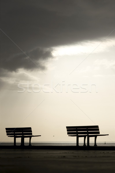 Two benches Stock photo © t3mujin