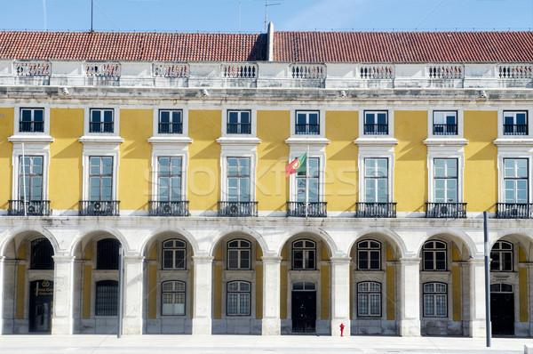Yellow facade Stock photo © t3mujin