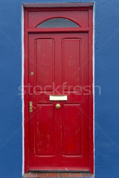 Red Door Stock photo © t3mujin