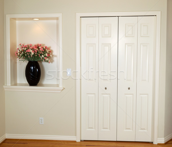 Closed Closet Doors in Home  Stock photo © tab62
