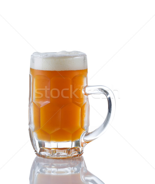 Stein filled with Amber Beer  Stock photo © tab62