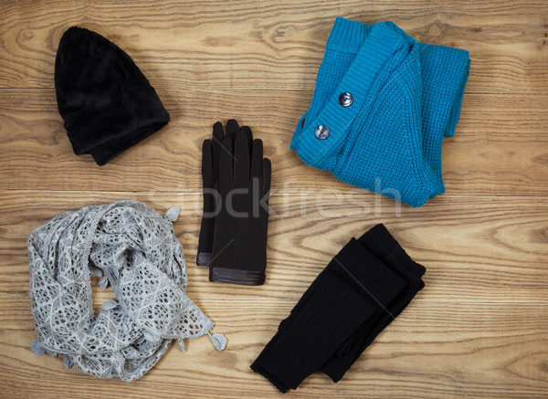Colder Weather Clothing for Outdoors  Stock photo © tab62