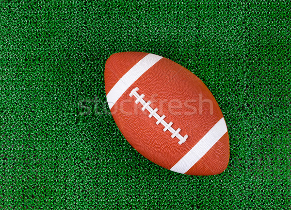 Photo stock: Football · artificielle · herbe · verte · gazon · domaine