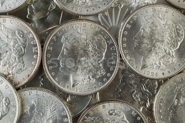 Many American Silver Dollars  Stock photo © tab62