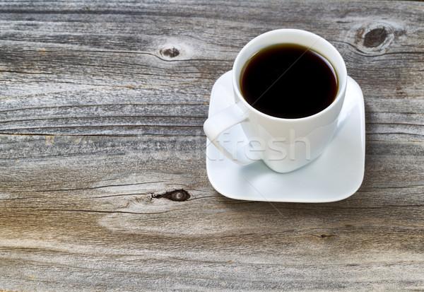 Freshly Brewed Morning Dark Coffee Stock photo © tab62