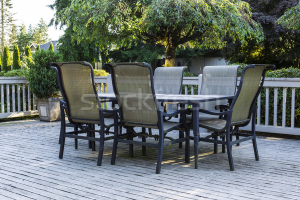 Open Patio during Summer  Stock photo © tab62