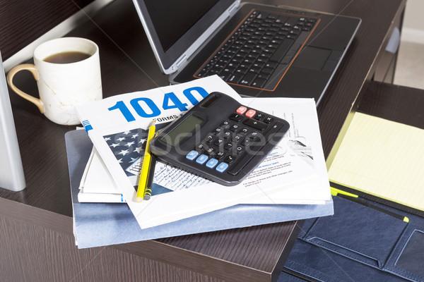 Income Tax Season  Stock photo © tab62
