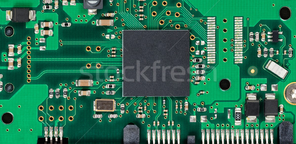 Electronic circuit board of computer hard drive  Stock photo © tab62