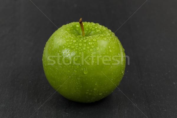 Fresche verde tutto mela nero pietra Foto d'archivio © tab62