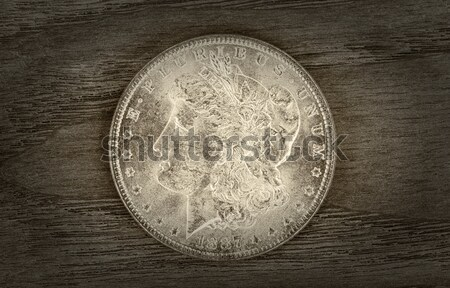 Stock photo: Initial Year of Indian Head Cent