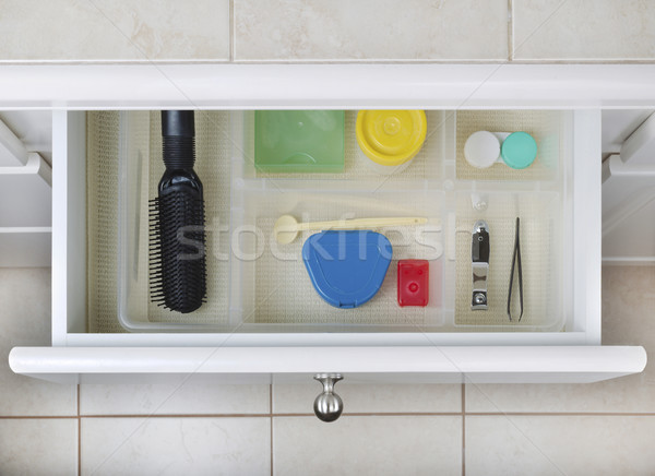 Organized Bathroom Drawer Stock photo © tab62