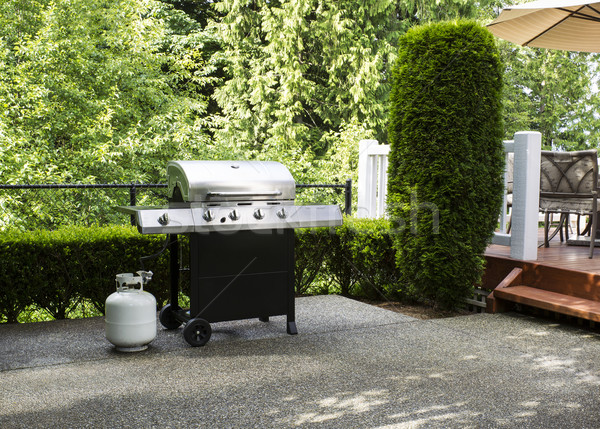 Outdoor cooker on House Patio  Stock photo © tab62