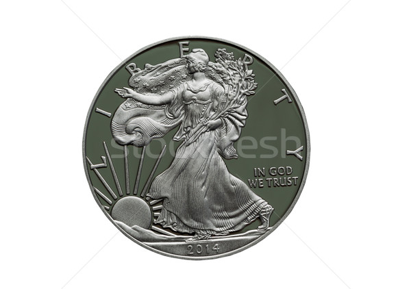2014 Proof United States of America Silver Dollar  Stock photo © tab62