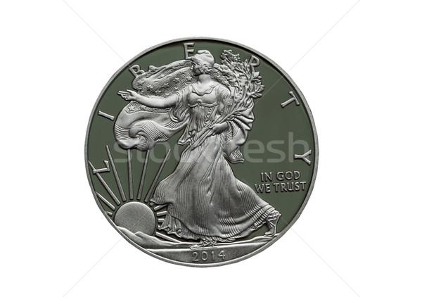 2014 доказательство Соединенные Штаты Америки серебро доллара Сток-фото © tab62