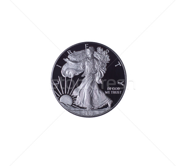 2012 United States Silver Dollar Pure Silver  Stock photo © tab62