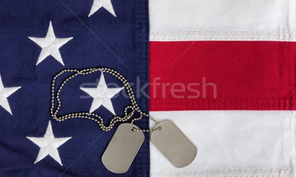 布 米国 フラグ 軍事 イド ストックフォト © tab62