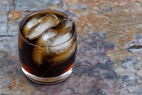 氷 冷たい コーラ 自然 石 ストックフォト © tab62