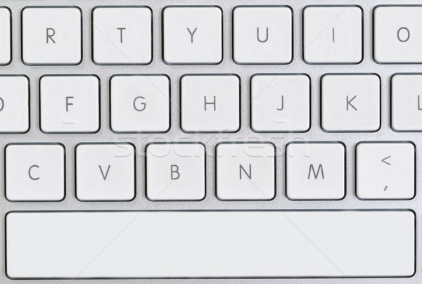 Close up of a partial computer keyboard  Stock photo © tab62