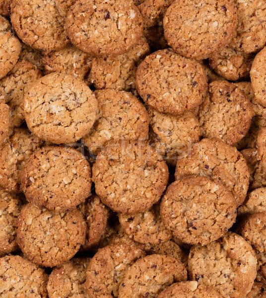 Oatmeal cookies in filled frame layout  Stock photo © tab62