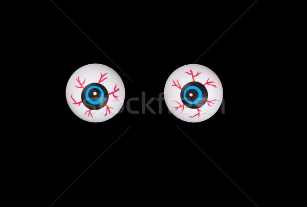 Scary eyeballs for Halloween isolated on black background  Stock photo © tab62